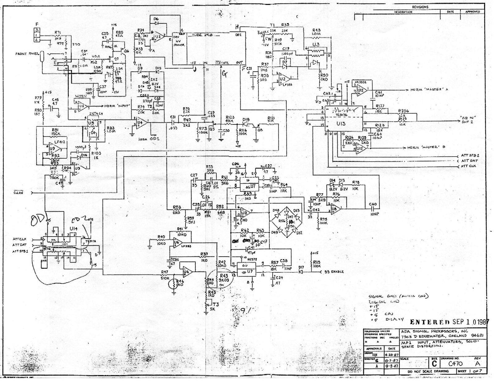 The Vault Schematics And Mods Wiring Diagram Preamp Eq Mp 1 Section